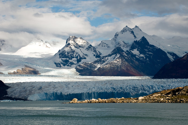 Geleira Perito Moreno foto de stock