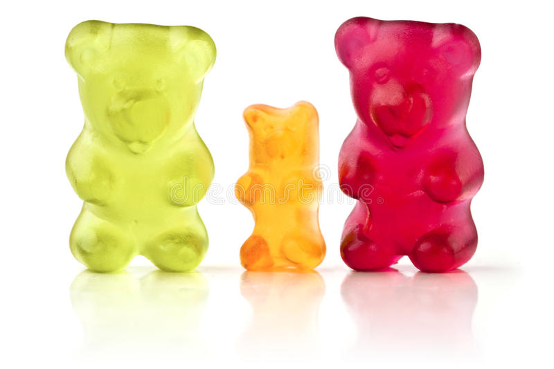 Gelez les ours photos stock