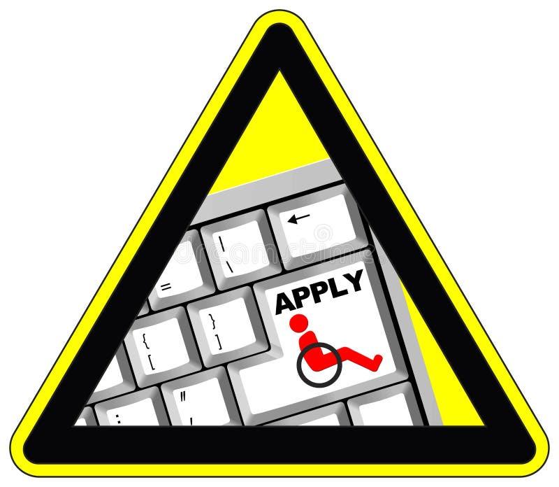 Gelijk Job Opportunities vector illustratie