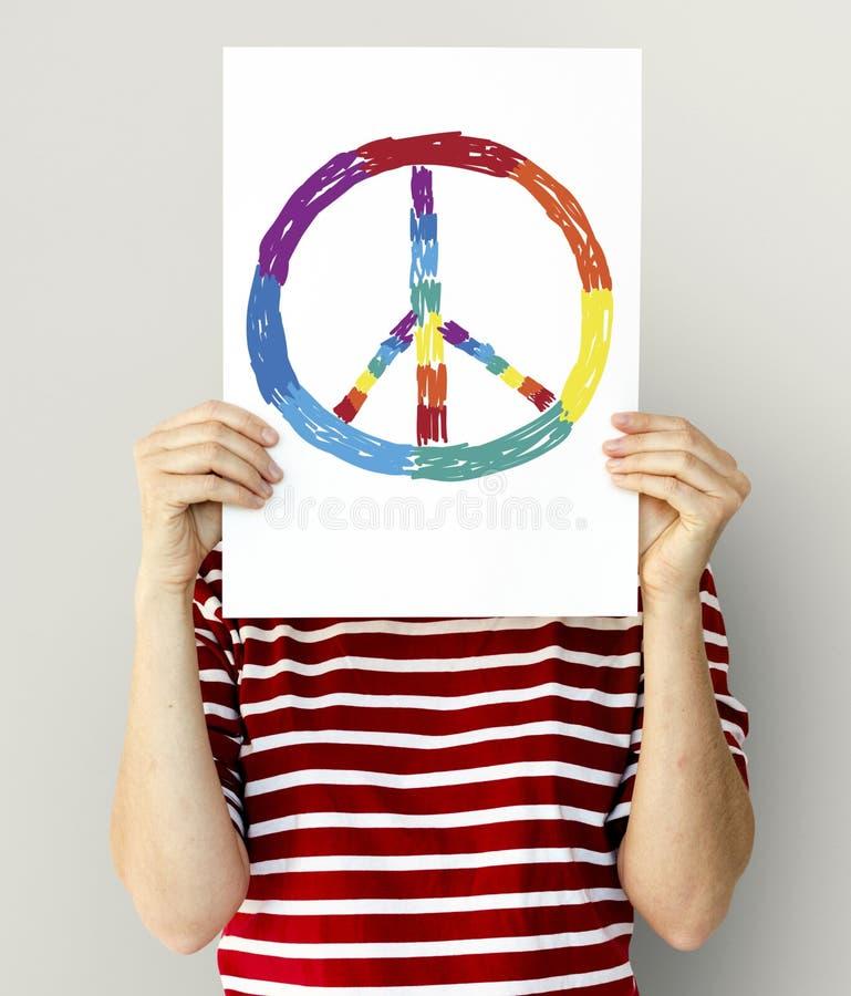 Gelijke de vrijheidsgemeenschap van LGBT samen stock afbeelding