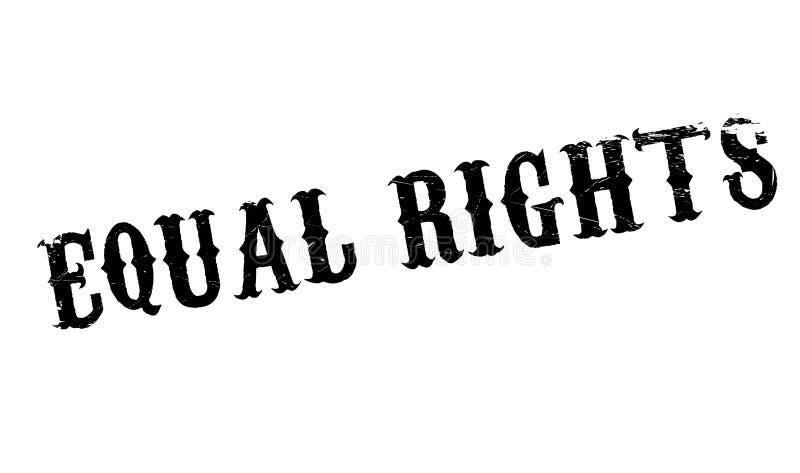 Gelijke Rechten rubberzegel vector illustratie