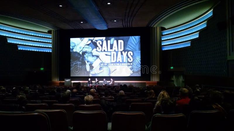 Gelijkstroom-première van Saladedagen royalty-vrije stock foto