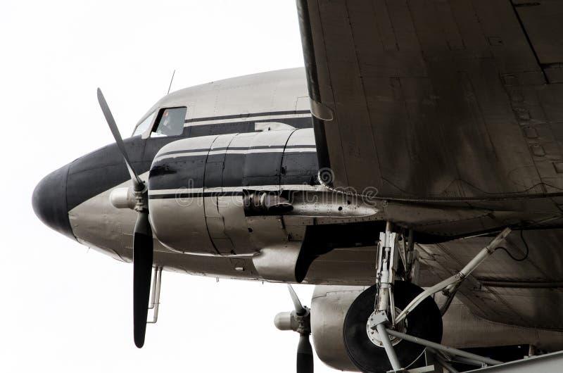 Gelijkstroom-3 vliegtuig stock fotografie