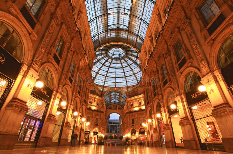 Download Gelleria Vittorio Emanuele II In Milan Editorial Image - Image: 5480310