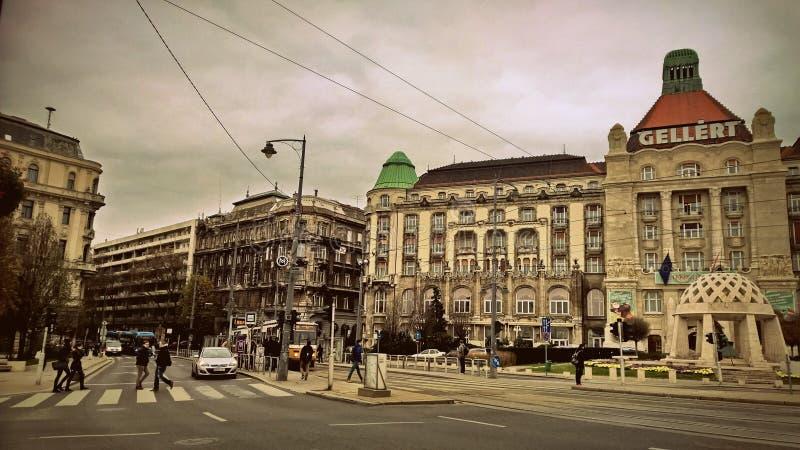 Gellert Bath in Budapest royalty free stock photos