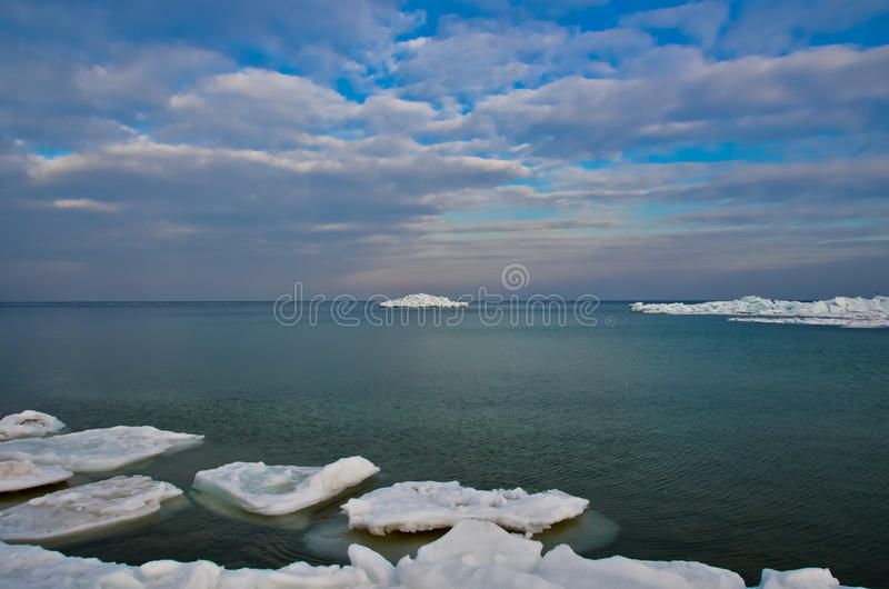 Gelo & iceberg fotografia de stock royalty free