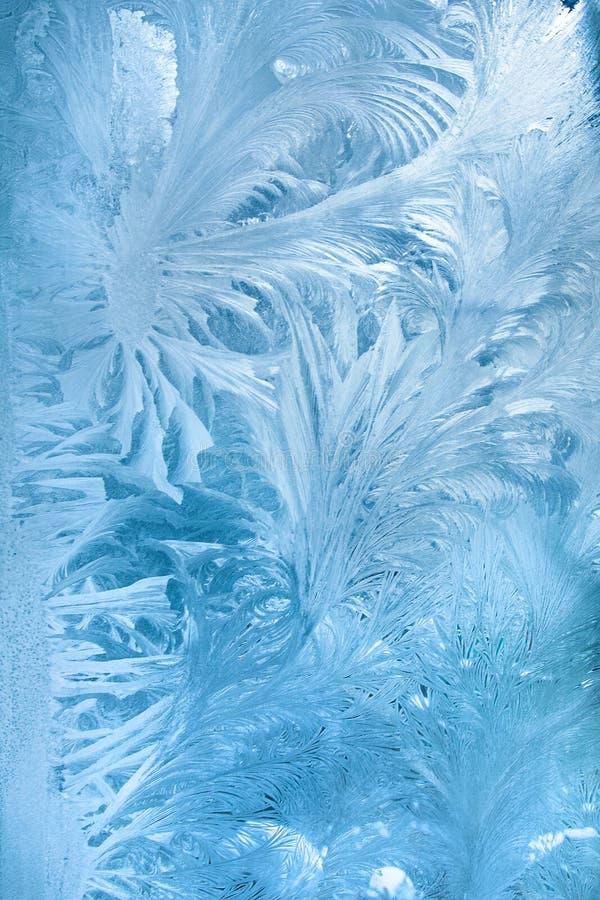 Gelo astratto fotografia stock