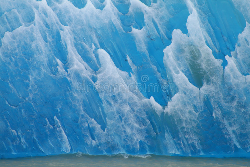 Gelo azul 01 imagem de stock royalty free