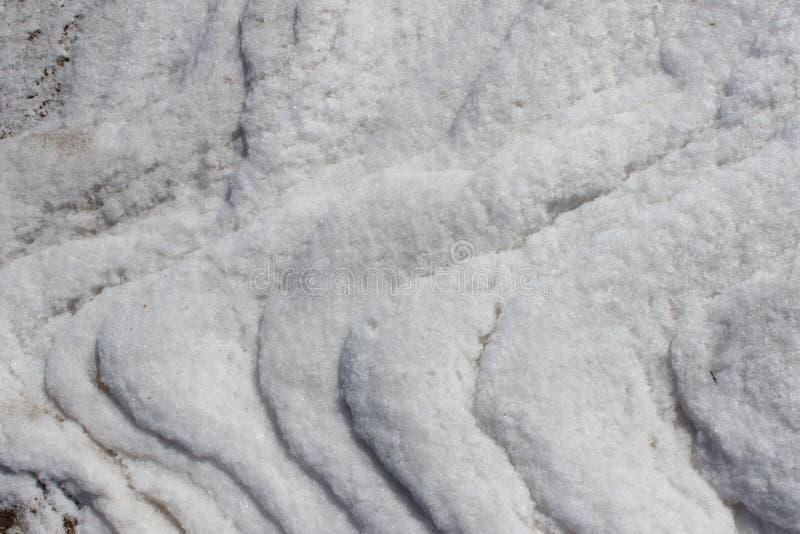 Gelo de água salgada Nova Scotia fotografia de stock