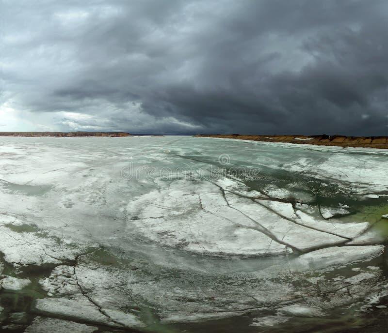 Gelo de flutuação imagens de stock