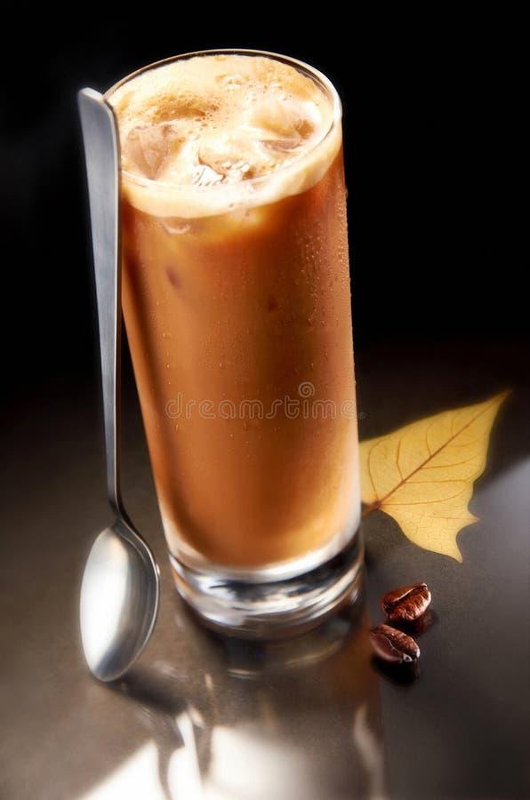 Gelo do café fotografia de stock