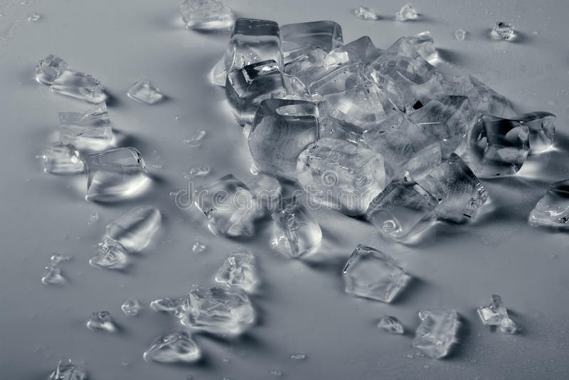 Gelo esmagado fotos de stock