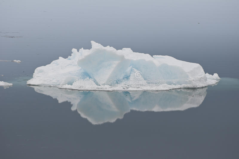 Gelo espelhado foto de stock