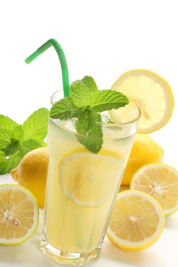Gelo - limonada fria imagem de stock royalty free