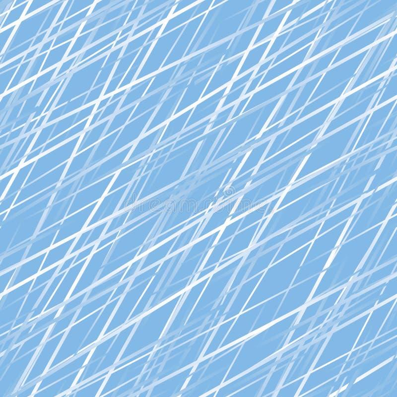 Gelo. Papel de parede sem emenda do vetor ilustração do vetor