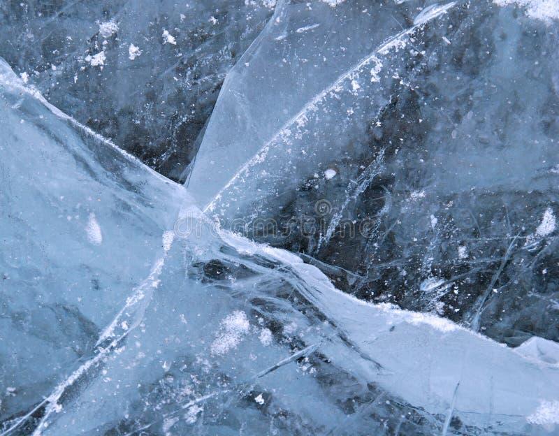 Gelo - textura imagem de stock royalty free