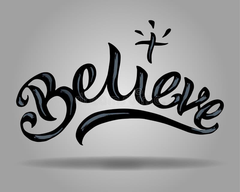 geloof vector illustratie
