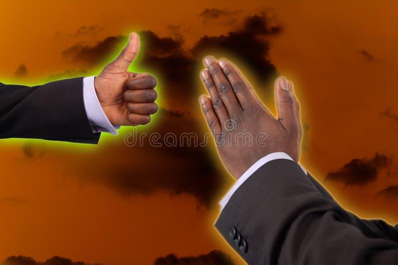 Geloof en Aanmoediging stock foto