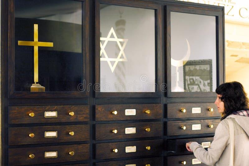 Geloof en Tolerantie stock foto's