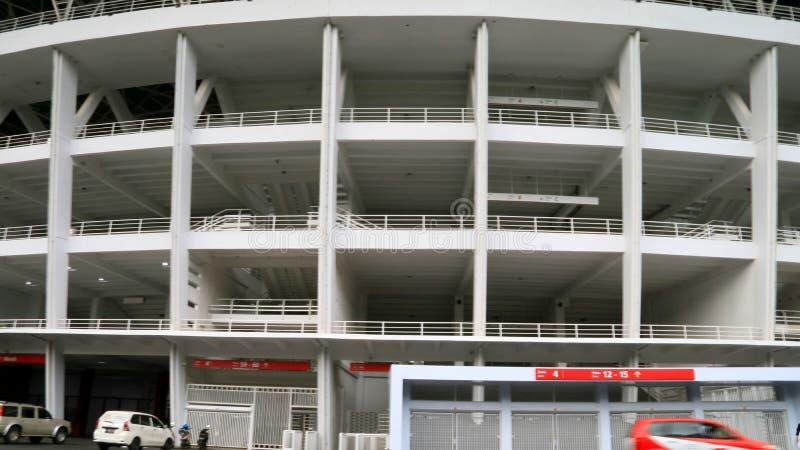 Gelora桶盖Karno体育场 库存照片