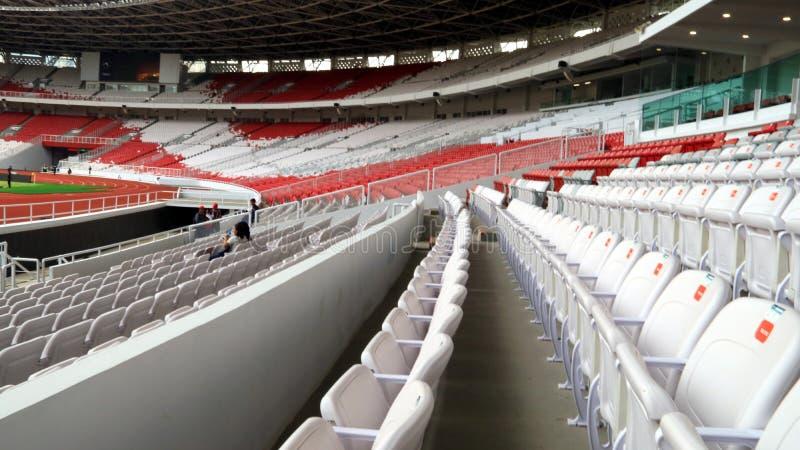Gelora桶盖Karno体育场 免版税库存照片