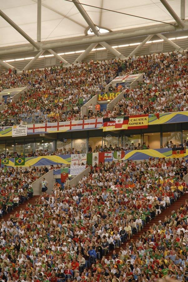 Soccer Crowd, Football Stadium, Germany stock image