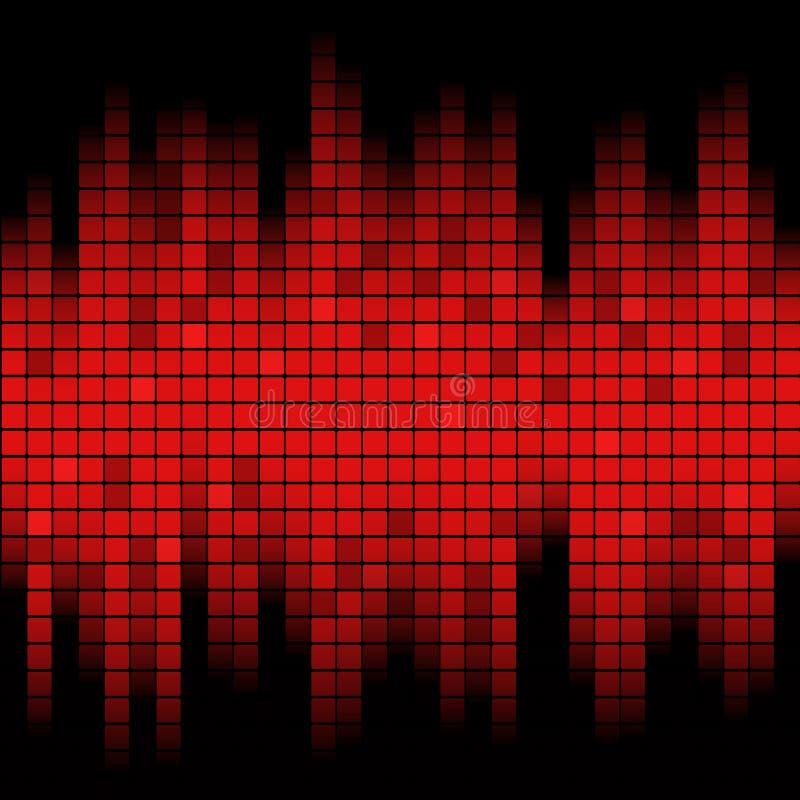 Geluid van Muziek stock illustratie