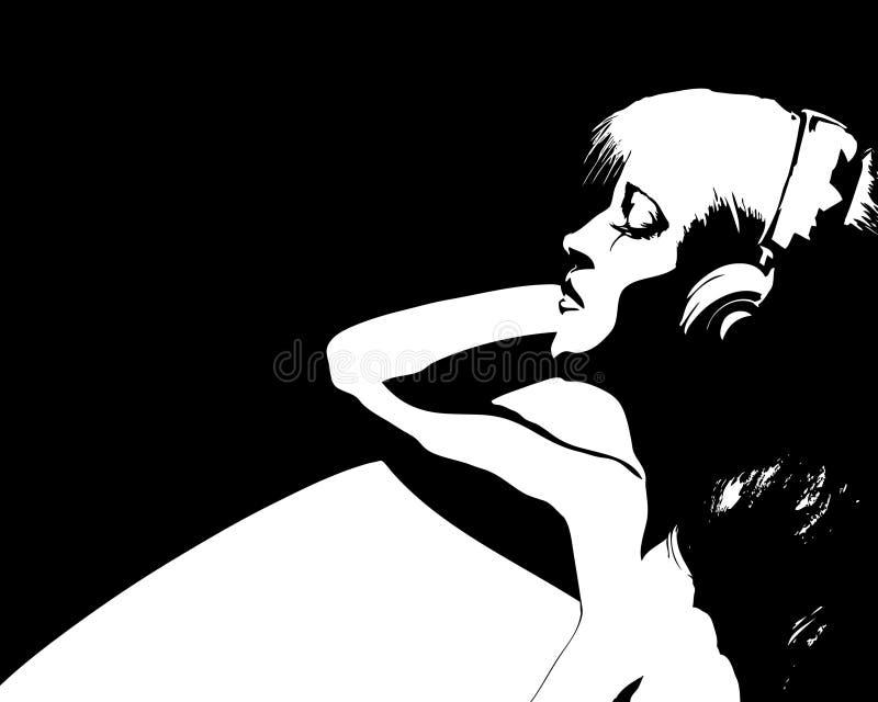 Geluid van muziek vector illustratie