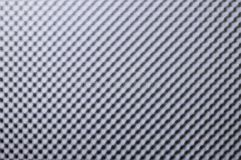 Geluidsbestendig Akoestisch zwart grijs schuim absorbeert stock fotografie
