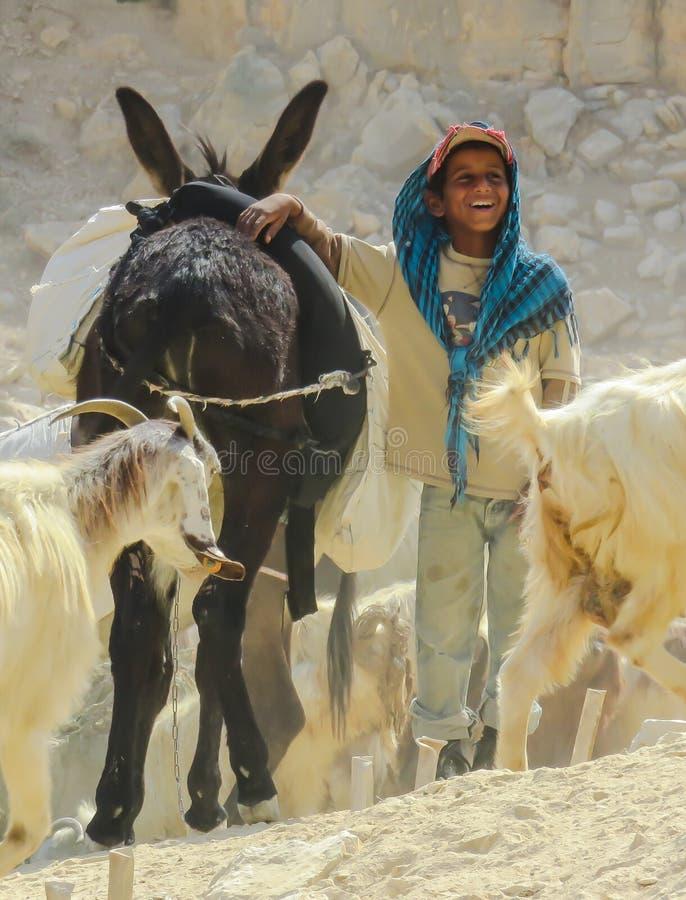 Geluk in de Woestijn stock foto's