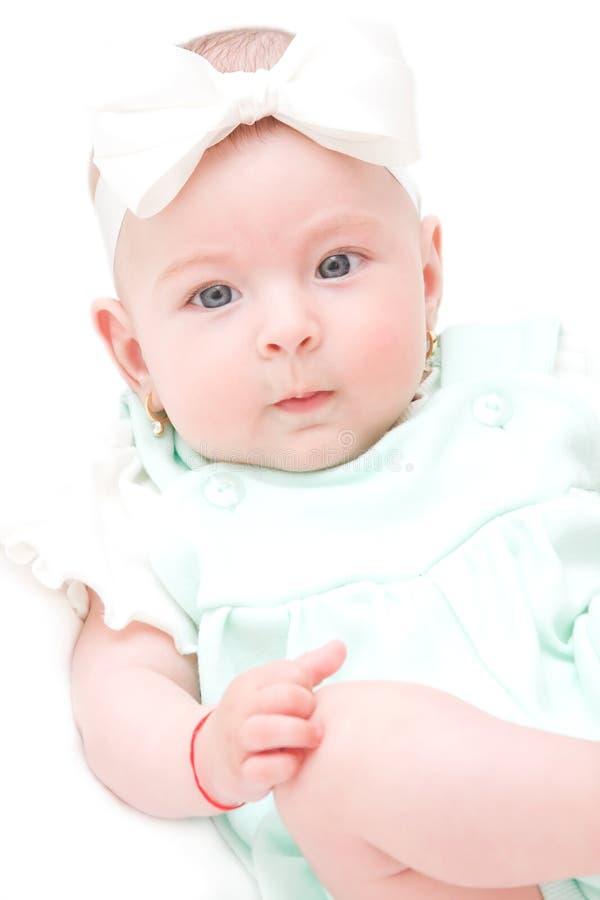 Gelukkig babymeisje royalty-vrije stock foto's