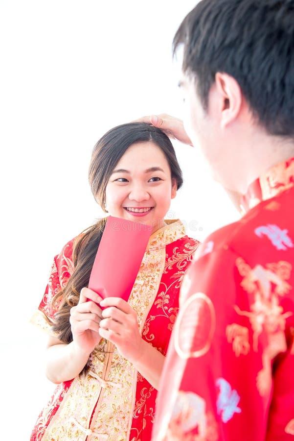 Gelukkig Chinees nieuw jaar stock afbeeldingen