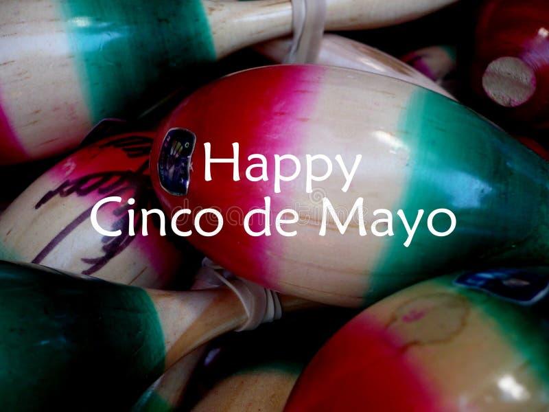 Gelukkig Cinco de Mayo op 5 Mei royalty-vrije stock fotografie