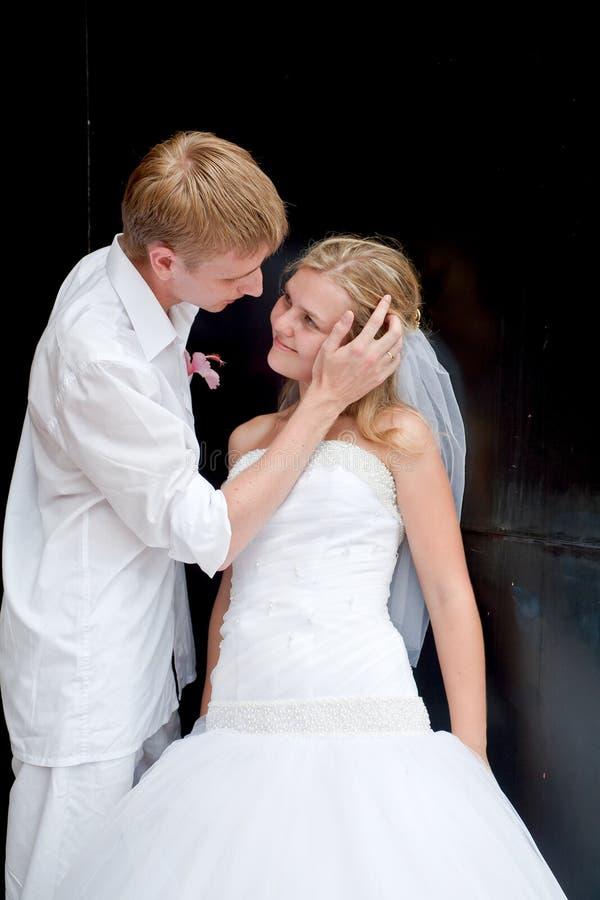 Gelukkig echtpaar royalty-vrije stock foto's