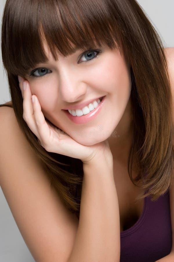 Gelukkig Glimlachend Meisje royalty-vrije stock fotografie