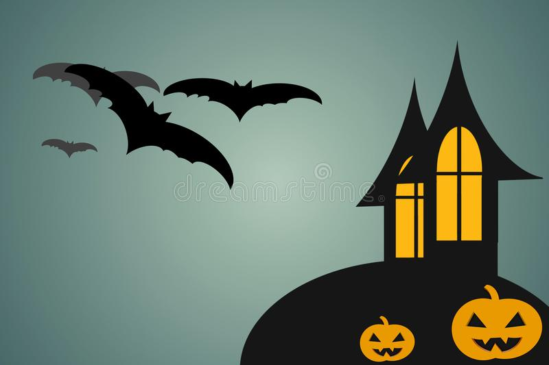 Gelukkig Halloween, Halloween-dag vector illustratie