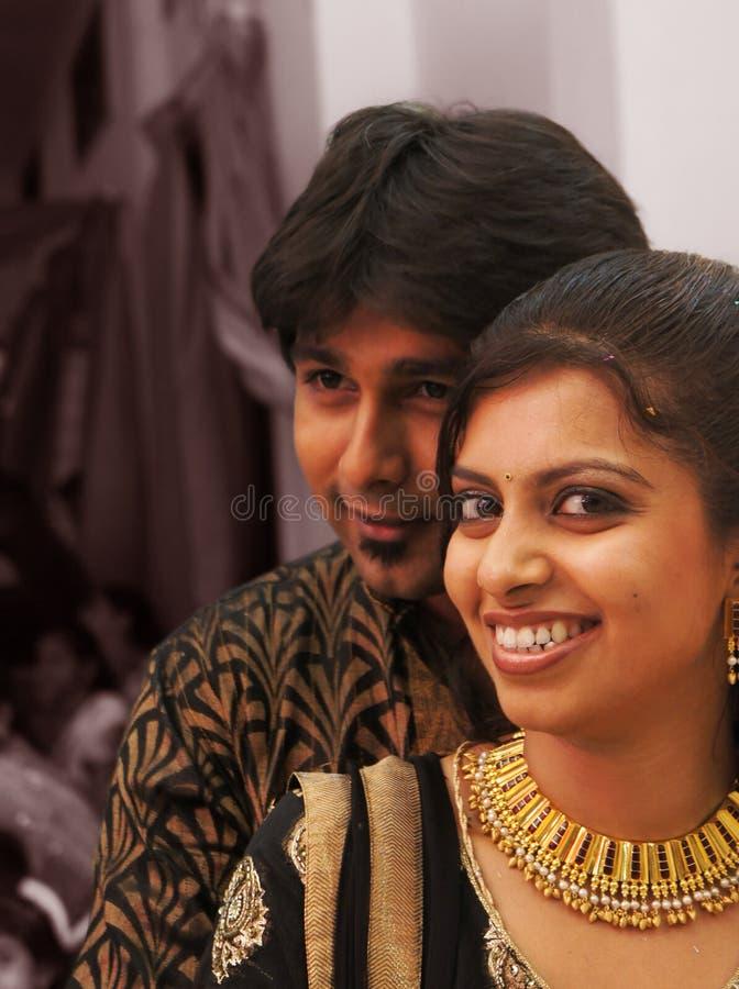 Gelukkig Indisch Paar stock foto