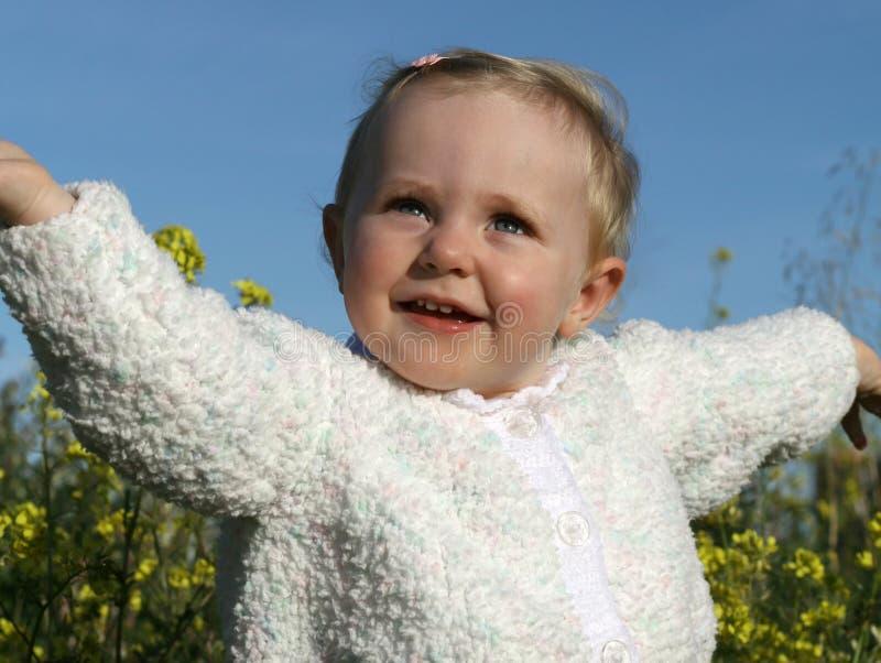 gelukkig kind stock afbeelding