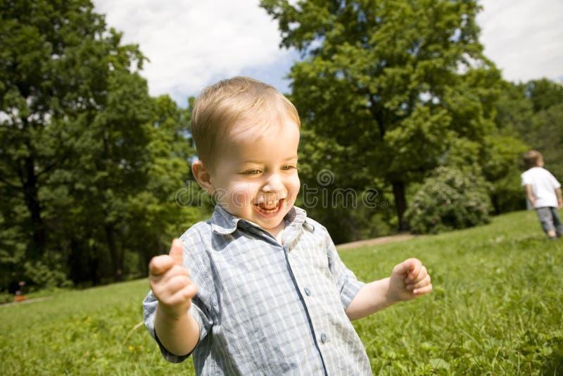 Gelukkig Little Boy royalty-vrije stock fotografie