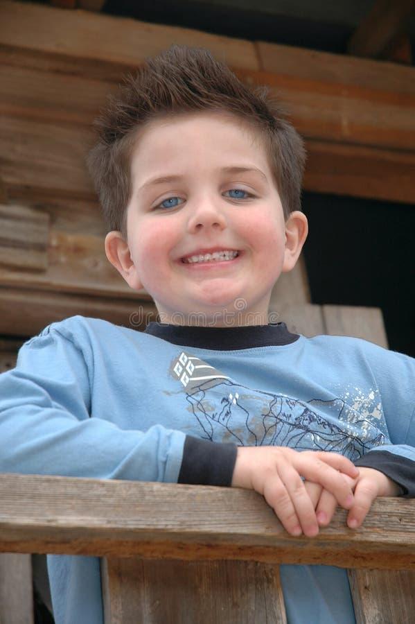 Gelukkig Little Boy stock fotografie