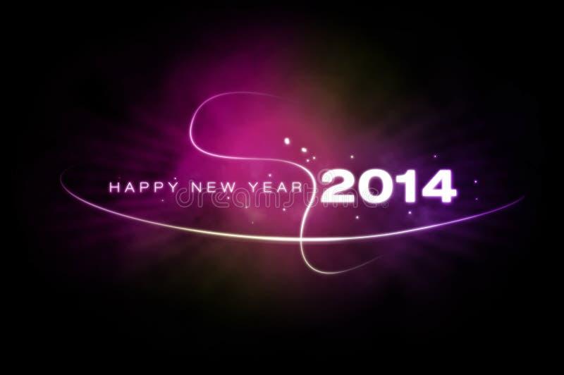 Gelukkig nieuw jaar 2014 royalty-vrije stock foto's