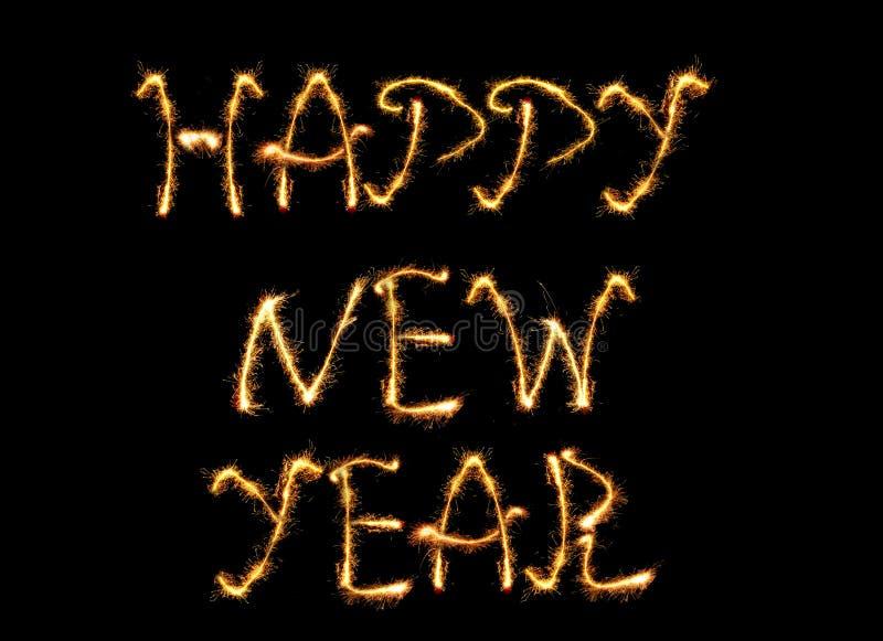 Gelukkig nieuw jaar stock foto