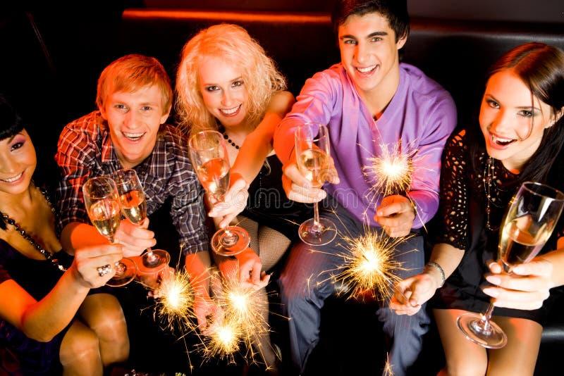 Gelukkig Nieuwjaar! royalty-vrije stock fotografie