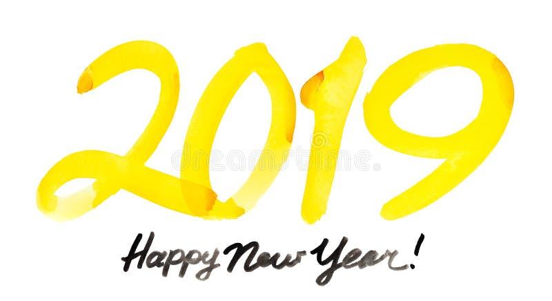 Gelukkig Nieuwjaar 2019 royalty-vrije stock fotografie