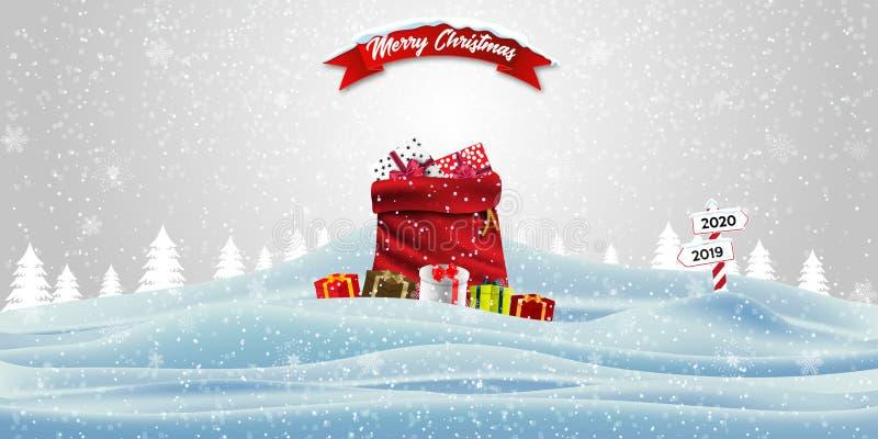 Gelukkig Nieuwjaar en vrolijk kerstfeest royalty-vrije stock fotografie