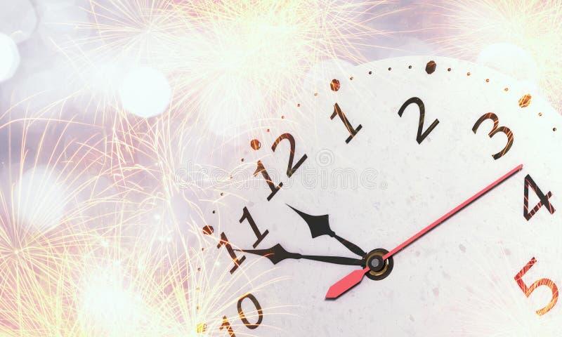 Gelukkig Nieuwjaar Gemengde media royalty-vrije stock fotografie