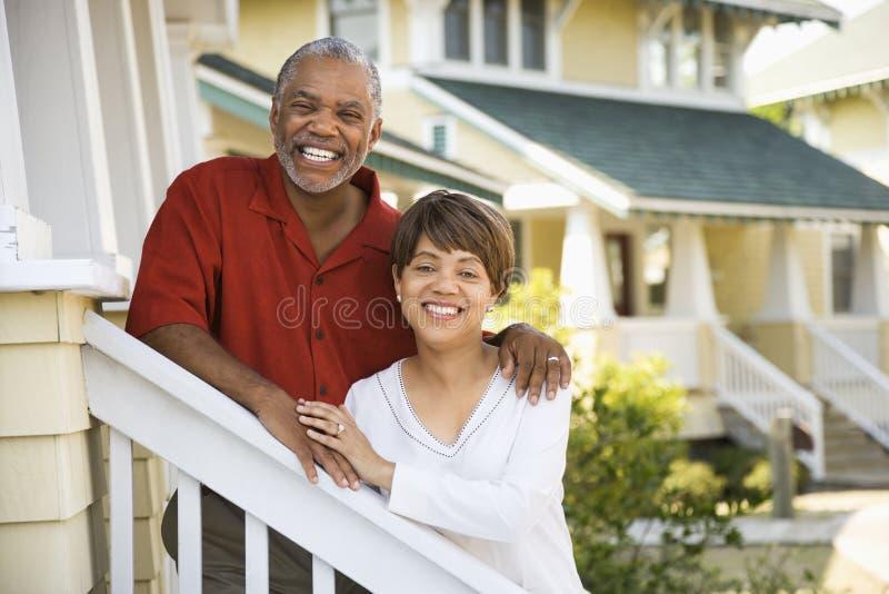 Gelukkig paar. royalty-vrije stock foto