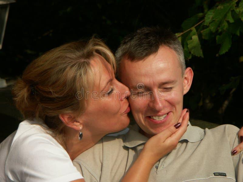 Gelukkig paar in liefde