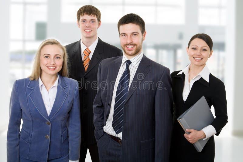 Gelukkig team royalty-vrije stock foto