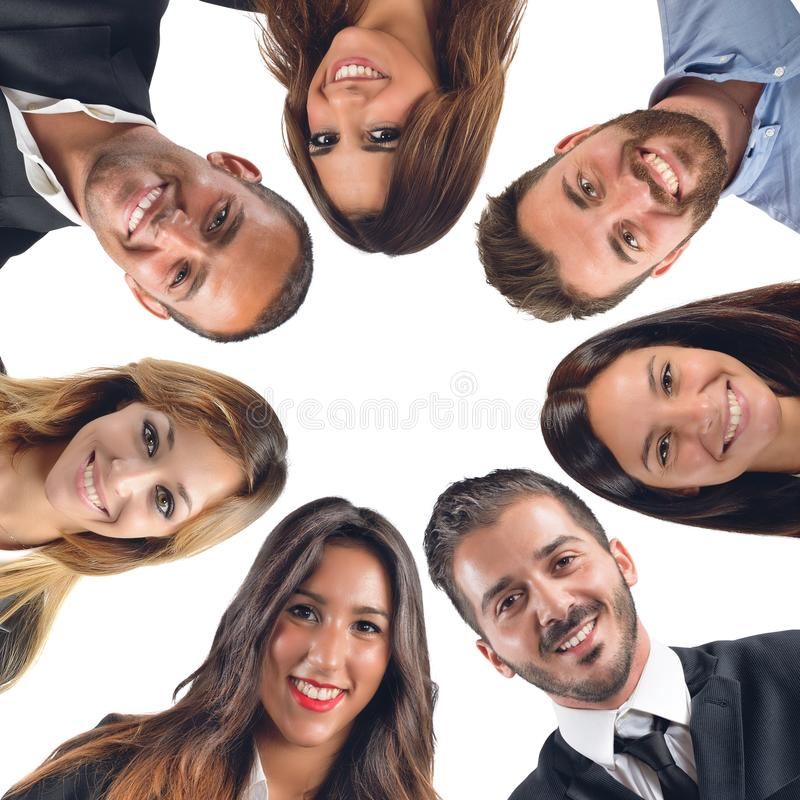 Download Gelukkig team stock afbeelding. Afbeelding bestaande uit businessperson - 54091005
